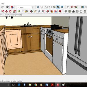 مجموعه آبجکت آشپزخانه